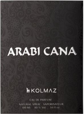Kolmaz Arabicana Eau de Parfum für Herren 4
