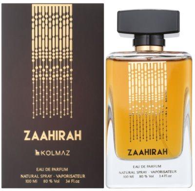 Kolmaz Zaahirah Eau De Parfum pentru femei