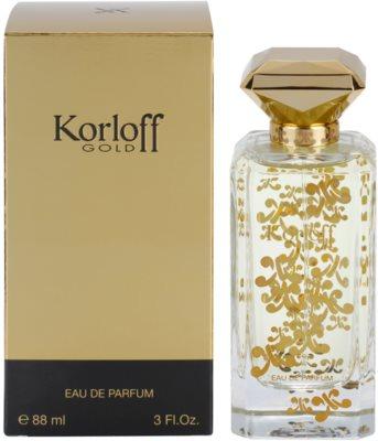 Korloff Gold eau de parfum nőknek