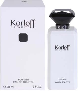Korloff In White eau de toilette para hombre