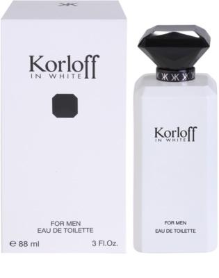 Korloff In White Eau de Toilette para homens