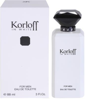 Korloff In White туалетна вода для чоловіків