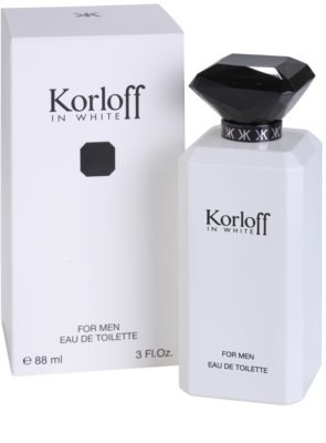 Korloff In White woda toaletowa dla mężczyzn 1