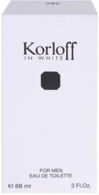 Korloff In White Eau de Toilette für Herren 4