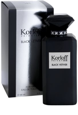 Korloff Korloff Private Black Vetiver туалетна вода унісекс 1