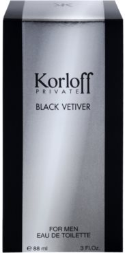 Korloff Korloff Private Black Vetiver туалетна вода унісекс 4