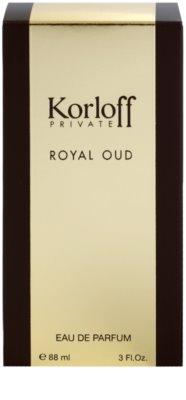 Korloff Korloff Private Royal Oud eau de parfum unisex 4
