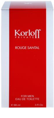 Korloff Korloff Private Rouge Santal Eau de Toilette unisex 1