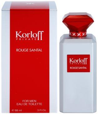 Korloff Korloff Private Rouge Santal Eau de Toilette unissexo