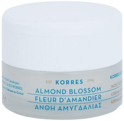 Korres Face Almond Blossom creme hidratante para pele normal a seca