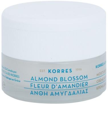 Korres Face Almond Blossom hidratáló krém normál és száraz bőrre