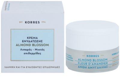 Korres Face Almond Blossom Feuchtigkeitscreme für fettige und Mischhaut 2