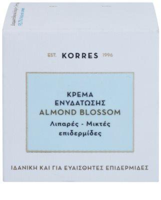 Korres Face Almond Blossom Feuchtigkeitscreme für fettige und Mischhaut 3