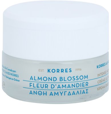 Korres Face Almond Blossom crema hidratante y nutritiva para pieles secas y muy secas