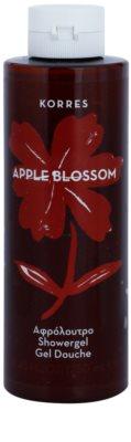 Korres Apple Blossom gel de duche unissexo