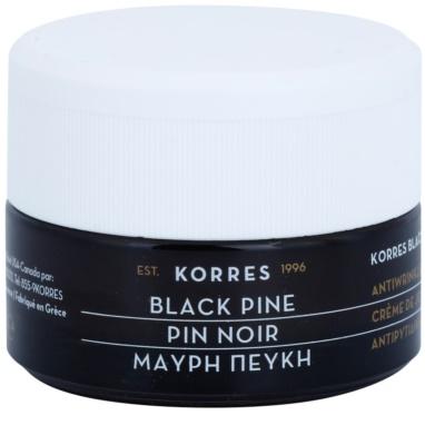 Korres Face Black Pine ránctalanító nappali lifting krém száraz és nagyon száraz bőrre