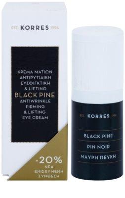 Korres Face Black Pine lifting krema za predel okoli oči proti gubam 2