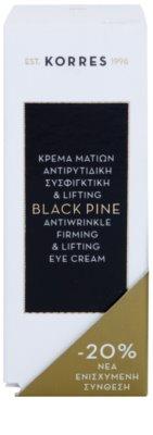 Korres Face Black Pine oční liftingový krém proti vráskám 3