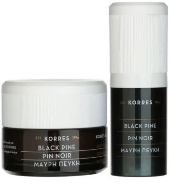 Korres Face Black Pine kozmetični set II. 1