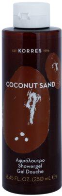Korres Coconut Sand gel za prhanje