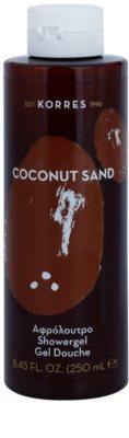 Korres Coconut Sand tusfürdő gél