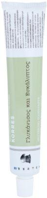 Korres Dental Care Anisum and Eucalyptus fehérítő fogkrém