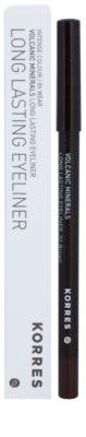 Korres Decorative Care Volcanic Minerals стійкий олівець для очей 2