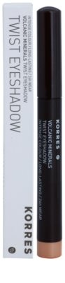 Korres Decorative Care Volcanic Minerals стійкі тіні-олівець для повік 2