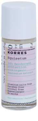 Korres Body Equisetum deodorant roll-on fără săruri de aluminiu 24 de ore