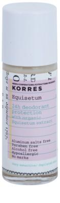 Korres Body Equisetum dezodorant w kulce bez soli glinu 24 godz.