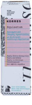 Korres Body Equisetum dezodorant w kulce bez soli glinu 24 godz. 2