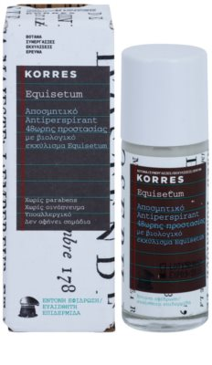 Korres Body Equisetum Deodorant roll-on 48 de ore 1
