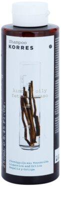 Korres Hair Liquorice and Urtica šampon pro mastné vlasy