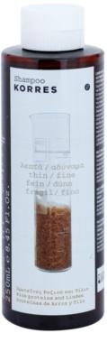 Korres Hair Rice Proteins and Linden champú para cabello fino