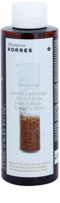 Korres Hair Rice Proteins and Linden Shampoo für feines Haar