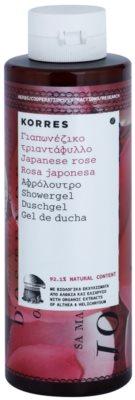 Korres Japanese Rose feuchtigkeitsspendendes Duschgel