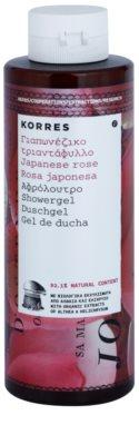 Korres Japanese Rose vlažilen gel za prhanje