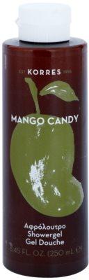 Korres Mango Candy gel de dus unisex