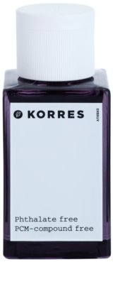 Korres Paeonia (Vanilla/Amber/Pear) eau de toilette nőknek 3