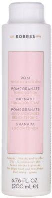 Korres Pomegranate тонік для шкіри для змішаної та жирної шкіри