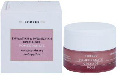 Korres Face Pomegranate зволожуючий крем-гель, нормалізуючий роботу сальних залоз для комбінованої та жирної шкіри 2