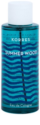 Korres Summer Wood Eau de Cologne unisex