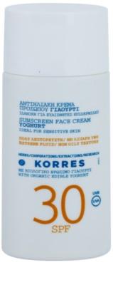 Korres Sun Care Yoghurt ochronny krem do twarzy SPF 30
