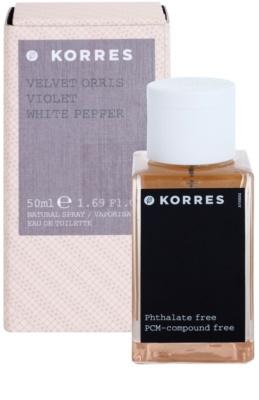 Korres Velvet Orris (Violet/White Pepper) тоалетна вода за жени 2