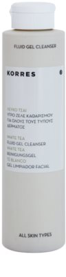 Korres Face White Tea gel de limpeza profunda