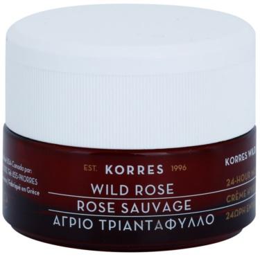 Korres Face Wild Rose creme hidratante e iluminador para pele mista e oleosa
