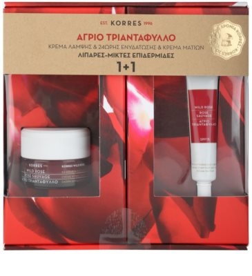 Korres Face Wild Rose coffret II.