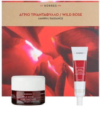 Korres Face Wild Rose kosmetická sada II. 1