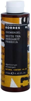 Korres White Tea (Bergamot/Freesia) gel de duche unissexo