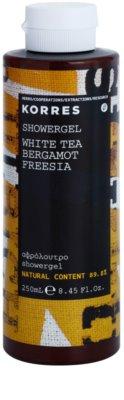 Korres White Tea (Bergamot/Freesia) gel za prhanje uniseks
